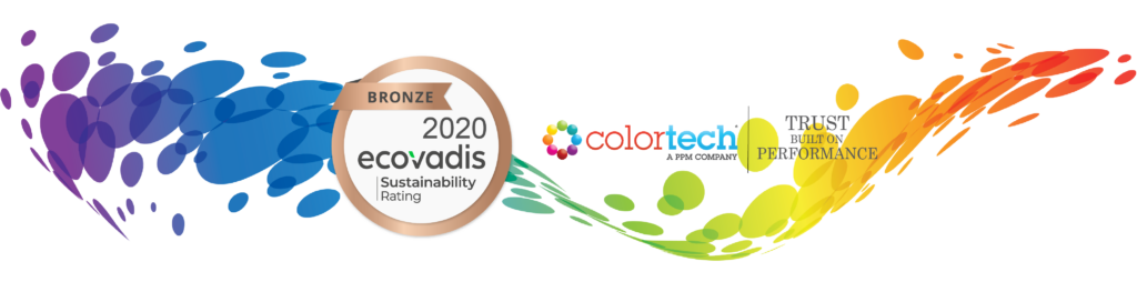 Colortech earns 2020 EcoVadis Bronze Rating